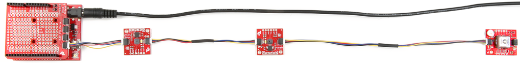 Sparkfun Qwiic boards, I2C Serie forbindes