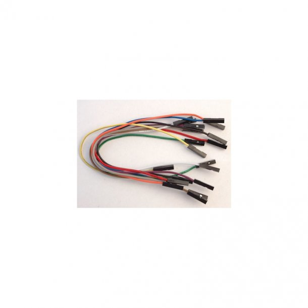 F/F Breadboard premium ledninger 10 stk. 155mm