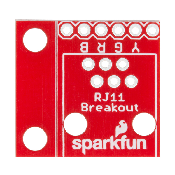 Rj11 6pin Connector Prt00132 Sparkfun Electronics