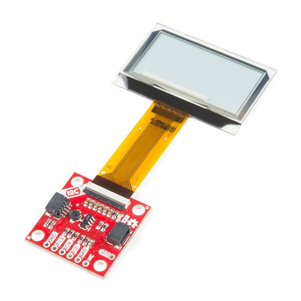 Transparent Graphical OLED Breakout (Qwiic)