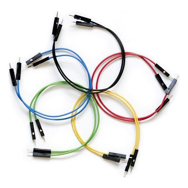 10 ledninger Han/Han 150mm
